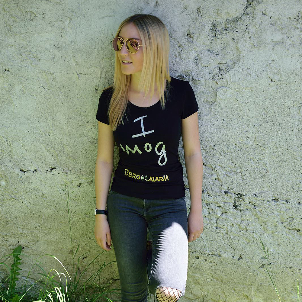"""I mog Bergalarm"""" T-Shirt Girly – Bergalarm"""